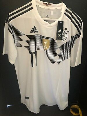 2018 World Cup Adidas Germany Reus Jersey NWT Climachill Mens L
