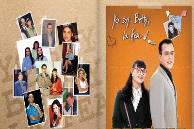 COLOMBIASERIESYO SOY BETTY LA FEA 1999  32 DVD169 CAPITULOS
