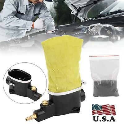 Car Pneumatic Air Spark Plug Cleaner Cleaning Tool with Abrasive US Stock