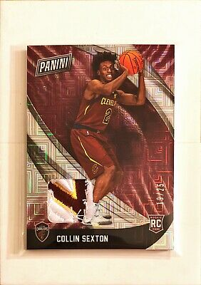 Collin Sexton 2018 Black Friday RC 3 CLR PATCH 1925 Cleveland Cavaliers