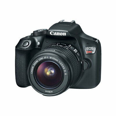 Canon EOS Rebel T6 DSLR Camera with EF-S 18-55mm f3-5-5-6 IS II Lens