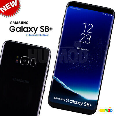 11 SAMSUNG GALAXY S8- Dummy Fake Toy Cell Phone Non-Working Fake Prop Black NEW