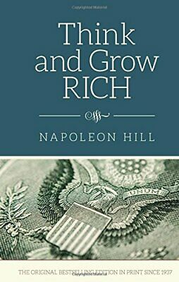 Think and Grow Rich by Napoleon Hill Motivation - Self-Improvement Hardcover NEW