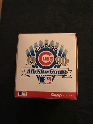 1990 Chicago Cubs Baseball All Star Game Kleenex Box Unopened Mancave