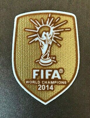 2014 World Cup Champions Germany Soccer Shirt Iron On Embroidered Patch Badge