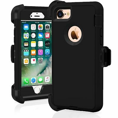 iPhone 6 iPhone 6s Heavy Duty Case wHolster Belt Clip Stand - Screen Protector
