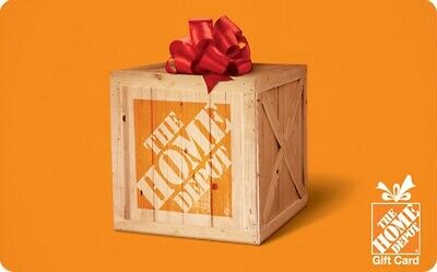 The Home Depot eGift Card - 25 50 100 or 200 - Email delivery