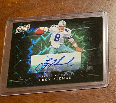 2018 PANINI BLACK FRIDAY TROY AIKMAN AUTO AUTOGRAPH SSP DALLAS COWBOYS
