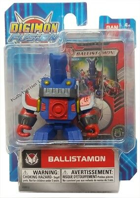 Digimon - Fusion 2 Action Figure - BALLISTAMON - New in Package -  B10-DB