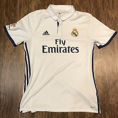 Adidas Climacool Real Madrid Polo Soccer Jersey Size Men's XL Adizero
