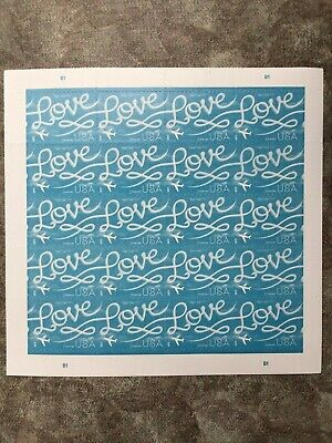 USPS Forever Postage Stamps love skywriting- Same shipping no matter how many