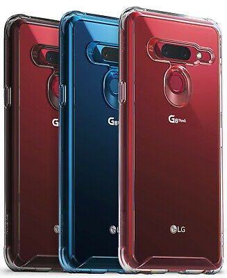 For LG G8 ThinQ  Ringke FUSION Clear PC Back Shockproof TPU Bumper Cover Case
