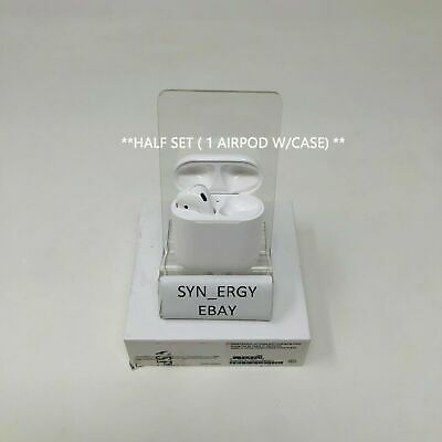 Authentic Apple AirPods Wireless Bluetooth Headset w Case MMEF2AMA