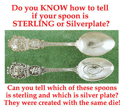 Is your spoon Silver Silverplate or White Metal Read this to find out