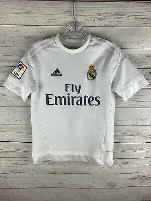 Adidas Climacool Real Madrid Cristiano Ronaldo soccer jersey size youth Large