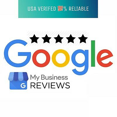 5 FIVE 5 star Google US based review for Business - 100 REAL PEOPLE
