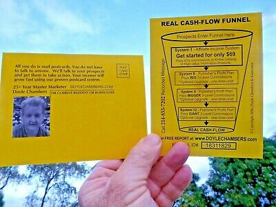 Business Opportunity Making Money With Post Card Mailings From Home True Greens