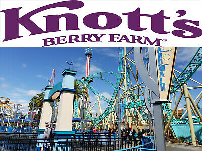 Knotts Berry Farm 4 E-Tickets for 99-99 Free Shiping  Fast Shipping