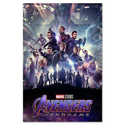 Avengers Endgame Movie Poster - International Art - High Quality Prints