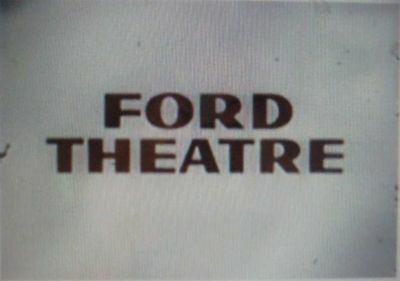 RARE DVD SET  FORD THEATRE - 1950s Drama Series  NOT FROM TV RERUNS