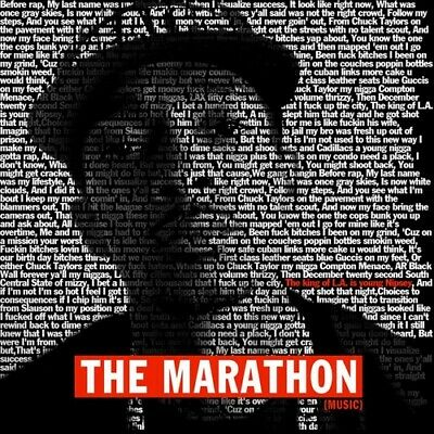 Nipsey Hussle - The Marathon Mixtape CD