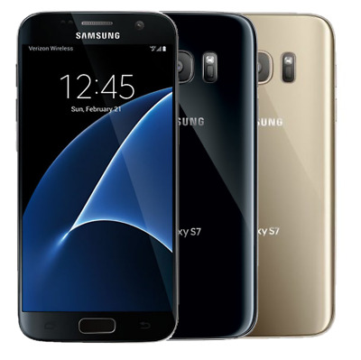 Samsung Galaxy S7 SM-G930 32GB Factory Unlocked Work With ATT T-Mobile - More