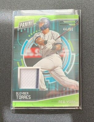2018 Panini Cyber Monday Gleyber Torres Pin Stripe Patch 'd 4450 YANKEES