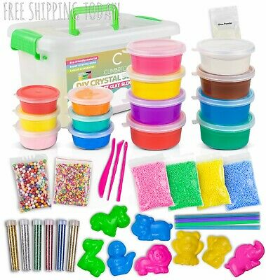 DIY Slime Kit Crystal Slime Making Kit Make Your Own Slime for Girls Boys