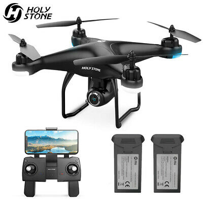 Holy Stone HS120D FPV Drones with 1080p HD Camera GPS RC Quadcotper Follow Me