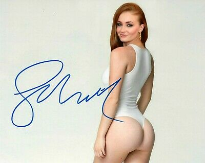 Sophie Turner Signed 8x10 Photo Reprint GAME OF THRONES