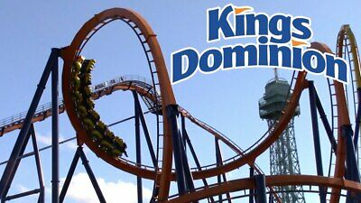 4 Four Tickets to Kings Dominion 4 tickets for 99-99 Free  Fast Shipping