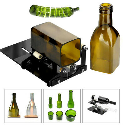 Glass Wine Bottle Cutter Cutting Machine To Make Glasses Beer Cut Tool DIY US