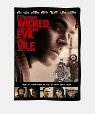 Extremely Wicked Shockingly Evil And Vile DVD NEWSEALED Ted Bundy 2019