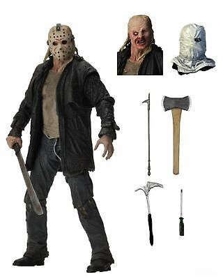 Friday the 13th - 7 Scale Action Figure - Ultimate Jason 2009 Remake - NECA