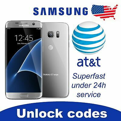 FACTORY UNLOCK SERVICE AT-T CODE SAMSUNG FOR GALAXY S9 S8 S7 NOTE 543 ACTIVE