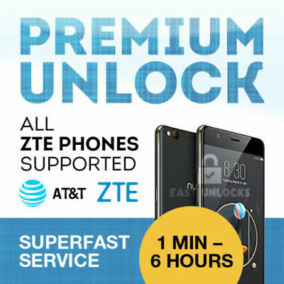 FACTORY UNLOCK SERVICE AT-T CODE ZTE FOR MAVEN Z835 Z831 Z812 Z958 Z222 Z998