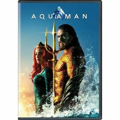 Aquaman DVD 2 Disc Special Edition Set Free Shipping Included