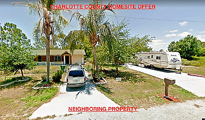 CHARLOTTE  COUNTY FLORIDA FABULOUS HOMESITE LOT NO RESERVE