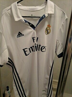 Adidas Climacool Real Madrid Polo Soccer Jersey Size Men's XL