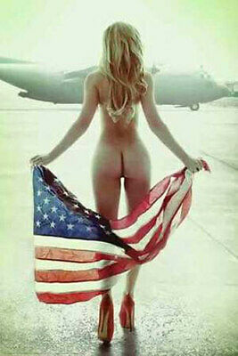 Flown Flag Poster by Daveed Benito 24-by-36 Inches