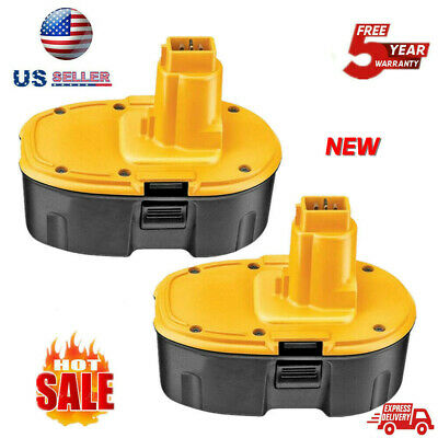 18V DC9096-2 Ni-CD For DeWALT DC9096 18-Volt XRP Battery DW9098 DC9099 - 2pk New