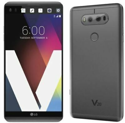 LG V20 H918 - 64GB Titan Grey T-Mobile 4G LTE Android Smartphone - Used