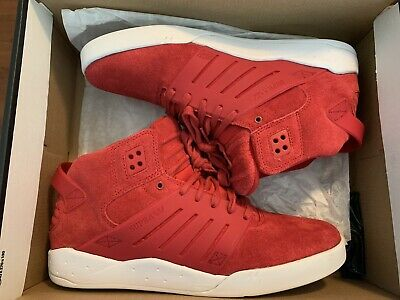 RARE Red Suede Supra Skytop III3 Shoes Sz-10-5
