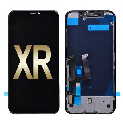 LCD Display Touch Screen Digitizer - Frame Assembly for iPhone XR 6-1