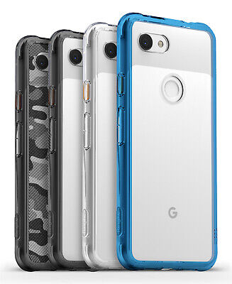 For Google Pixel 3a  3a XL  Ringke FUSION Clear Shockproof PC TPU Cover Case