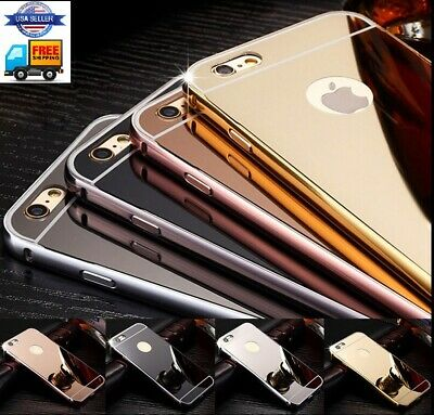 Luxury Case Gold Silver and Rose For iPhone 6  6S 6S - with screen protector