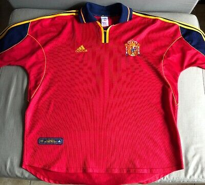 ADIDAS BARCELONA SPAIN AUTHENTIC WORLD CUP SOCCER FUTBOL POLO JERSEY MENS XL