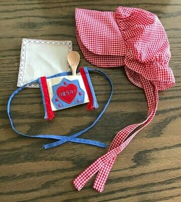 American Girl Kirsten Bonnet Spoon Bag Replacement Accessories - Addy Spoon