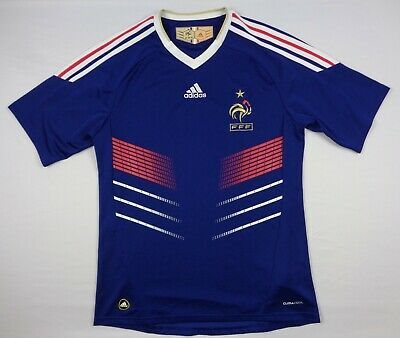 Adidas France 2010 Mens M Football World Cup Soccer Home Jersey P41040