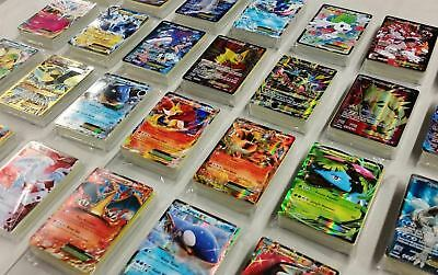 Pokemon Card Lot 100 OFFICIAL TCG Cards Ultra Rare Included - GX EX MEGA - HOLO